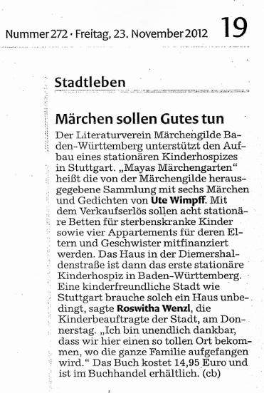 Pressemitteilung Märchengilde